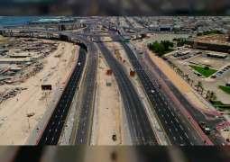 """""""طرق دبي"""" تفتتح خمسة جسور مؤدية لجزر ديرة بطول 2571 مترا"""