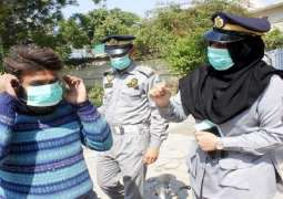 ارتفاع حصیلة الاصابات بفیروس کورونا الي286674 حالة في باکستان