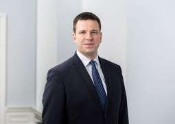 Estonian Prime Minister Says EU Should Provide Tough Response to Situation in Belarus
