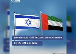 World media hails 'historic' announcement by US, UAE and Israel