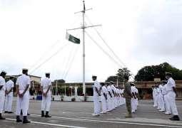 Pakistan Navy Celebrates  73Rdanniversary Of Pakistan With Traditional Fervor