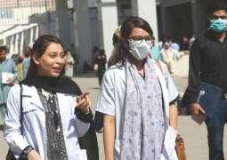 باکستان تسجل 87 الاصابات الجدیدة بفیروس کورونا