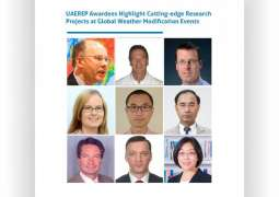 UAEREP awardees highlights cutting-edge research projects at global weather modification events