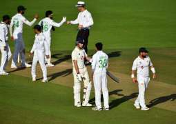 Second test concludes in draw after rain stops play