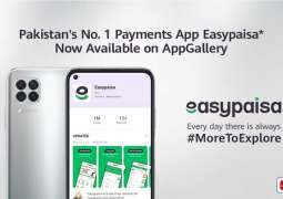 Headline 01: HUAWEI AppGallery Bolsters Itself with the Availability of Pakistan's No. 1 Payments App Easypaisa