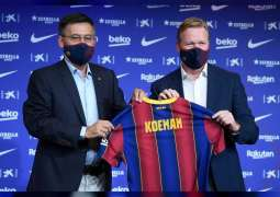 Ronald Koeman appointed Barcelona coach after Quique Setien sacking