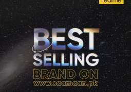 Realme C12 sold out on Hot Sale making realme Pakistan best selling brand on saamaan.pk