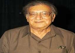 Progressive poet Ahmad Faraz's 12 death anniversary today