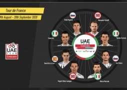 فابيو آرو يقود فريق الإمارات للدراجات الهوائية في جولة فرنسا