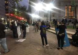 Jacob Blake Protesters Start Fire at Courthouse in California - Oakland Police