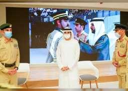 Hamdan bin Mohammed meets first batch of female cadets graduating from Dubai Police Academy