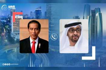 Mohamed bin Zayed, Indonesian President exchange Eid greetings