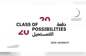 Zayed University to hold virtual graduation of 'Class of Possibilities' 2020