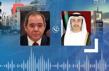 Abdullah bin Zayed, Algerian FM exchange Eid Al-Adha greetings