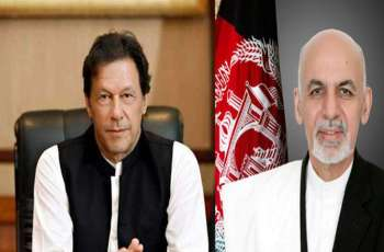 PM Imran Khan, Afghan President Ashraf Ghani discuss peace process in Afghanistan