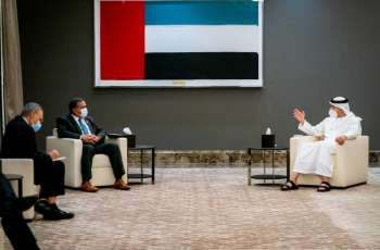 Abdullah bin Zayed receives White House Middle Eastern Affairs official