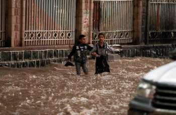 Four Buildings in Yemen's Sanaa Collapse Amid Heavy Seasonal Rains - Source