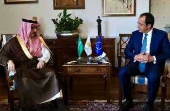 سمو وزير الخارجية يقوم بزيارة رسمية لجمهورية قبرص