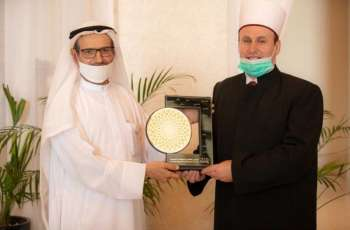President of World Council of Muslim Communities meets Grand Mufti of Albania