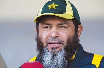 Mushtaq Ahmed speaks with media after Pakistan leads England by 244 runs