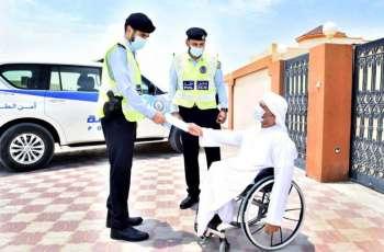 شرطة الشارقة تطلق مبادرة انجاز معاملات ذوي الإعاقة فى مساكنهم