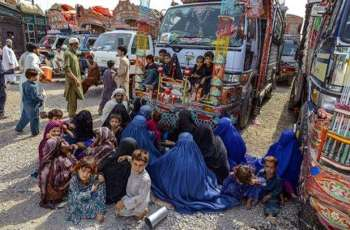 Afghan refugees' profess of voluntary repatriation from KP to Afghanistan resumes today