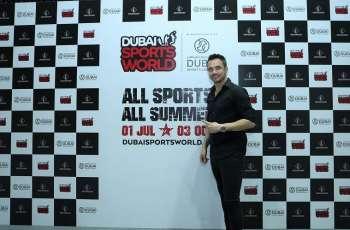 Zenga and Falcao visit Dubai Sports World