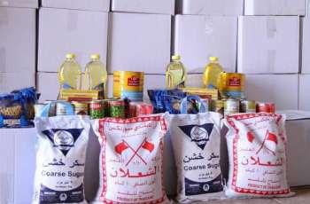 جمعية البر الخيرية بلينة تشرع بتوزيع 400 سلة غذائية لمستفيديها