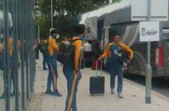 Pakistan Team arrives in Southampton to play second Test