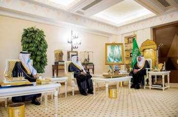 سمو أمير القصيم يلتقي الحربي بمناسبة تكليفه رئيساً لمركز دخنة