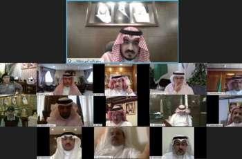 سمو نائب أمير منطقة مكة المكرمة يقدم شكره لأعضاء لجنة الطوارئ بالمنطقة