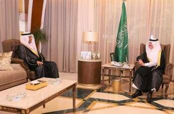 سمو أمير المنطقة الشرقية يلتقي رئيس الهيئة العامة للموانئ