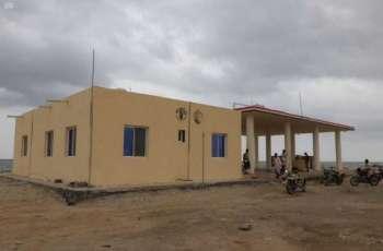 مركز الملك سلمان للإغاثة ينهي أعمال إعادة تأهيل مركز الإنزال السمكي في محافظة تعز بالتعاون مع منظمة (الفاو)