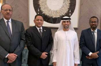 Suhail Al Mazrouei, Sudanese ministers discuss cooperation in energy, infrastructure