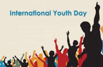 International Youth Day being celebrated today