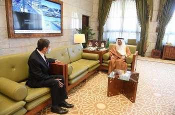 سمو أمير منطقة الرياض يستقبل سفير جمهورية البوسنة والهرسك لدى المملكة
