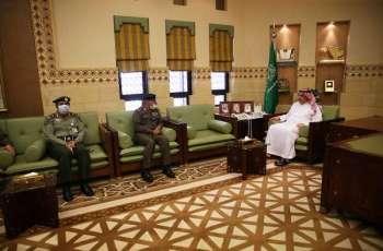 وكيل إمارة الرياض يستقبل اللجنة الأمنية الدائمة بالمنطقة