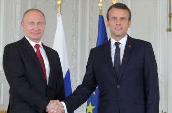 Putin, Macron Discuss Belarus - Kremlin