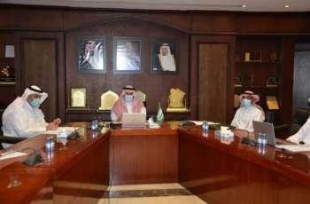 مدير تعليم الرياض يرأس اجتماع اللجنة التوجيهية للإشراف على خطة العودة لمدارس الرياض