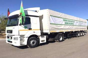 Turkmenistan Continues To Provide Humanitarian Support To The Afghan People