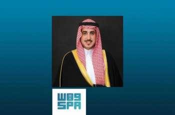 سمو أمير منطقة الجوف يطمئن على صحة الشيخ فوزي بن دعيجاء
