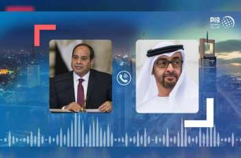 Mohamed bin Zayed receives Egyptian President's telephone call