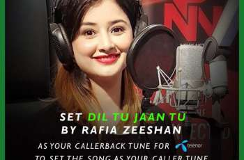 Rafia Zeeshan's song for Independence Day: Dil Tu Jan Tu