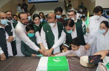 Nishtar Medical University Multan celebrates Independence Day