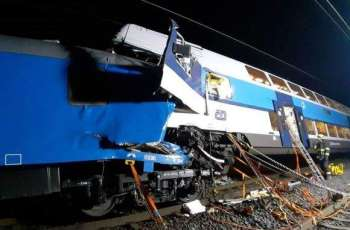 Two Injured After Train Carriages Crash Into Car Near Czech Capital