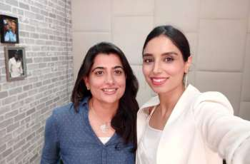 Sana Mir, Zainab Abbas enjoy documentary on ICC Women' T20World Cup