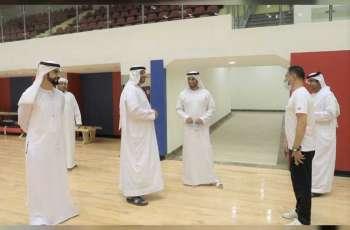 رئيس مجلس الشارقة الرياضي يتفقد منشآت نادي المدام و يطلع على خططه للموسم الجديد