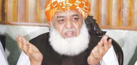 JUI-F Chief gives call for rally against PTI govt in Peshawar