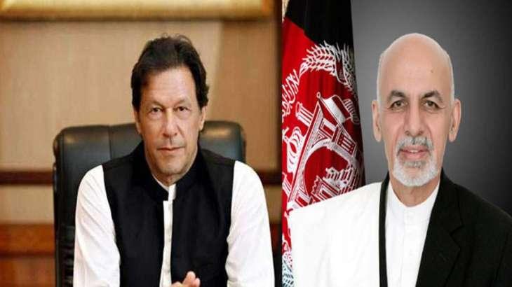 PM Imran Khan, Afghan President Ashraf Ghani discuss peace process in Afghanistan