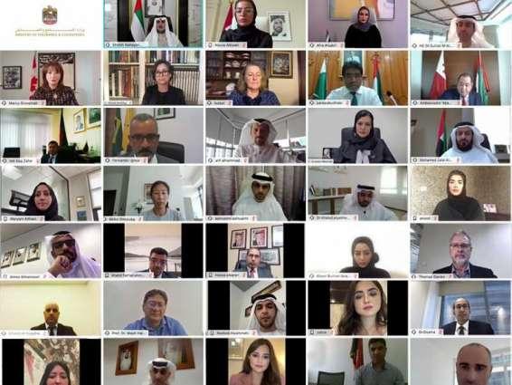 Nahyan bin Mubarak launches 'Virtual Knowledge Exhibition'